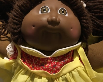 1985 African American Cabbage Patch Doll