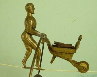 Charles Blondin Tightrope Walker Toy British Antique