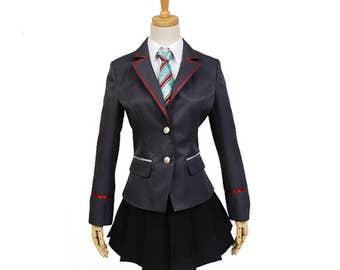 Vocaloid Project DIVA-F 2nd Miku Uniform Cosplay Costumes