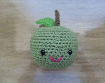 Crochet Green Apple