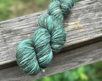 Worsted Weight Yarn - Walter's Worsted in 'Evergreen'