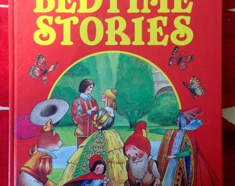 My Giant Book of Bedtime Stories Vintage children's book published by Peter Haddock limited