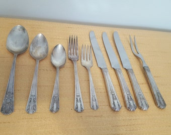 ON SALE, Oneida Silverware, WMA Rogers Silverware, Vintage Flatware, Vintage silverware, Replacement Silverware,  Rare Silverware, Knives
