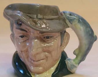 Royal Doulton Miniature Toby Jug, Collectible, The Poacher number D6515