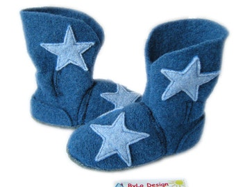 booties slippers house booties baby shoes one woman House shoes slippers push Star Blue