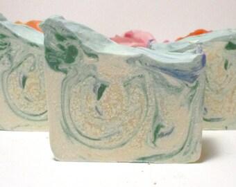 Spring Showers Goat Milk Soap | Easter Baskets for Adults | Easter Basket Stuffers For Adults