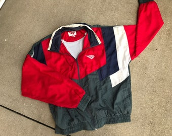 Vintage Pony Red, white, blue, and grey Men's Windbreaker