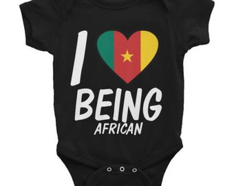 I Love Being African, Cameroonian T-Shirt