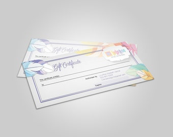 Feather Gift Certificate - home office approved