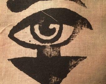 Arrow Eye Silkscreen Patch