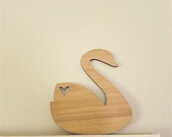 Wooden Swan-bamboo-shelfie-photoprop-flatlay