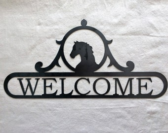 Welcome - Horse