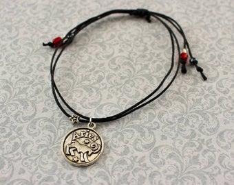 Aries Charm Bracelet Zodiac