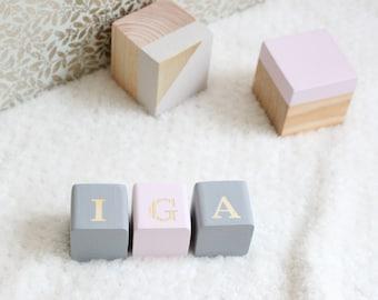 Personalized Baby Blocks, Custom Baby Blocks, Wooden Blocks, Baby Blocks, Wooden Toys, Decorative Blocks, Nursery Decor, , Custom Nursery