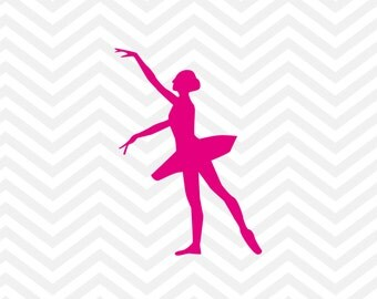 Ballerina SVG, Ballerina Cut File, Dancer Cut File, Dance Team SVG, Dancer Sihouette, png, svg, Cricut, Silhouette, Dance Team