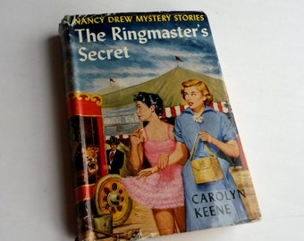1953 Nancy Drew The Ringmaster's Secret