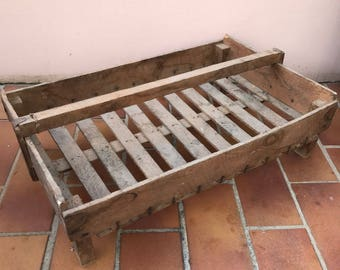 French old Wooden Seed Tray Crates 04051718