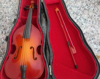 Miniature Classical Double Bass