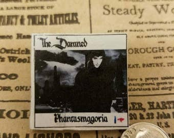 The Damned - Phantasgagoria album wood pin