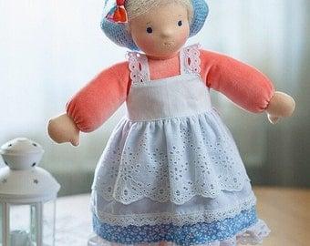 Waldorf doll Nina