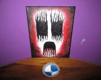Corpse paint painting