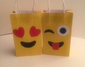 Emoji Goodie Bags 12 pk