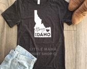 Always Idaho © | Idaho T Shirt | Home State Shirt | Mom Shirt | Trendy Tees for Women | Boyfriend Tee | Gift for Mom