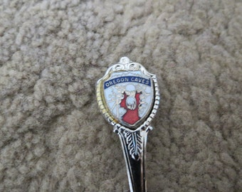 Oregon Caves Souvenir Spoon-A