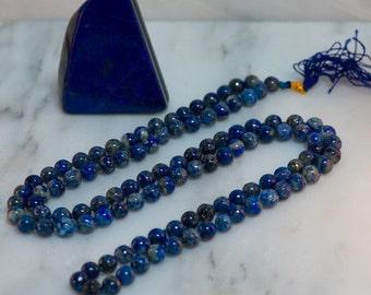 Lapis Lazuli Mala Necklace