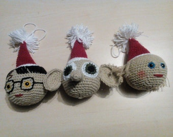 Harry potter christmas ornament | Etsy