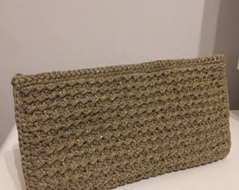 Crochet Handmade Clutch Bag