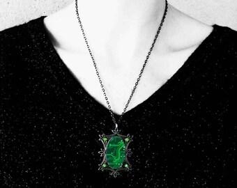 Green printed circuit board pendant