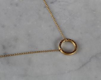 Gold Loop Necklace