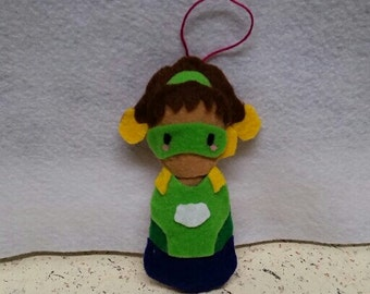 Lucio Overwatch Winter Wonderland Ornament/Charm