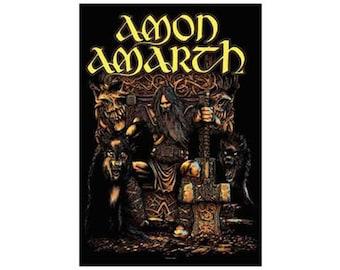 Amon Amarth - Thor Fabric Poster