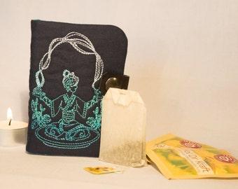"Tea to go bag motif ""Tea ceremony"", bag, custom, tea drinkers, gift"