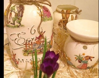Shabby Chic Spring Easter theme Wax Burner Oil Burner