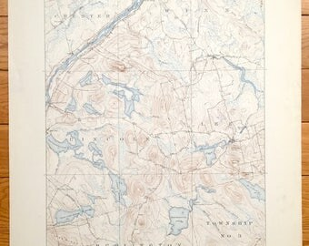 Lowell Map Etsy - 1920 us map