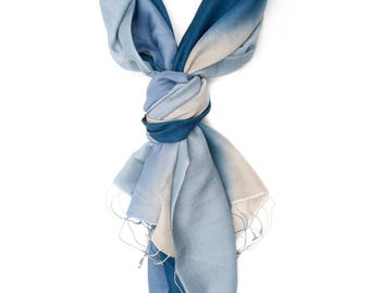 Shaded Blue Stole