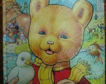 Vintage 1981 First Edition Rupert The Bear The Daily Express Annual BoutiqueByDanielle
