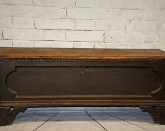 Late 19th Century Antique Trunk