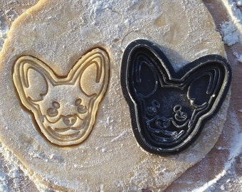 Chihuahua cookie cutter. Dog cookie cutter. Mexico dog cookie cutter