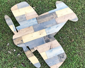 "Rustic Wood plane Large 36"""