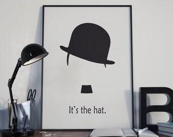 Chaplin hat picture