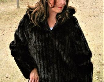 Vintage Fur Coat - Amazing Real Looking Faux Fur