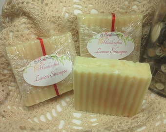 Lemon Shampoo Bar - Free Shipping