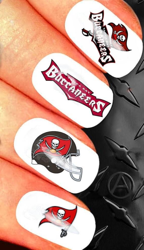 35 de uñas de arte decoración - diseño de uñas de la NFL Tampa Bay ...