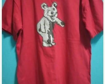 SALE 10 % Vintage Bear 90s tshirt