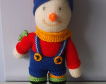Knitted Sonny the Clown