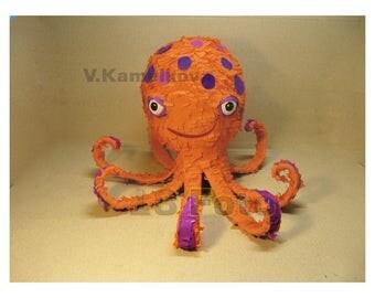Master class octopus pinata